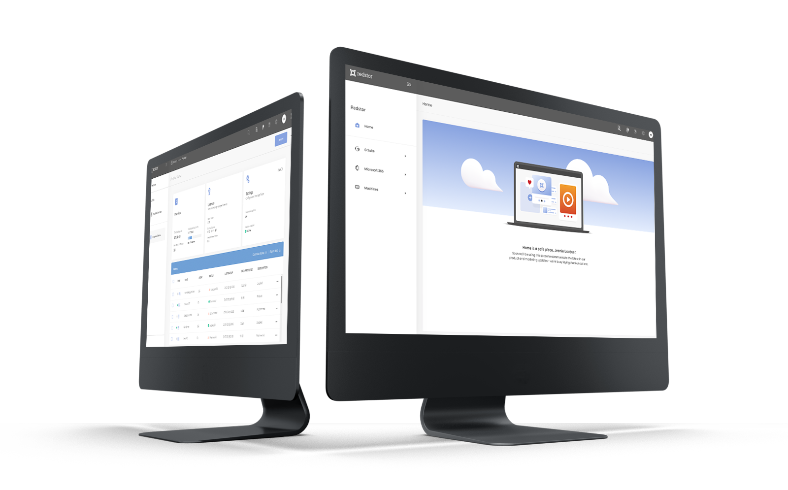 Cloud backup and recovery console
